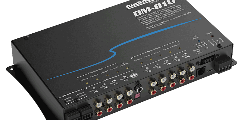 AudioControl DM-810 Digital Signal Processor