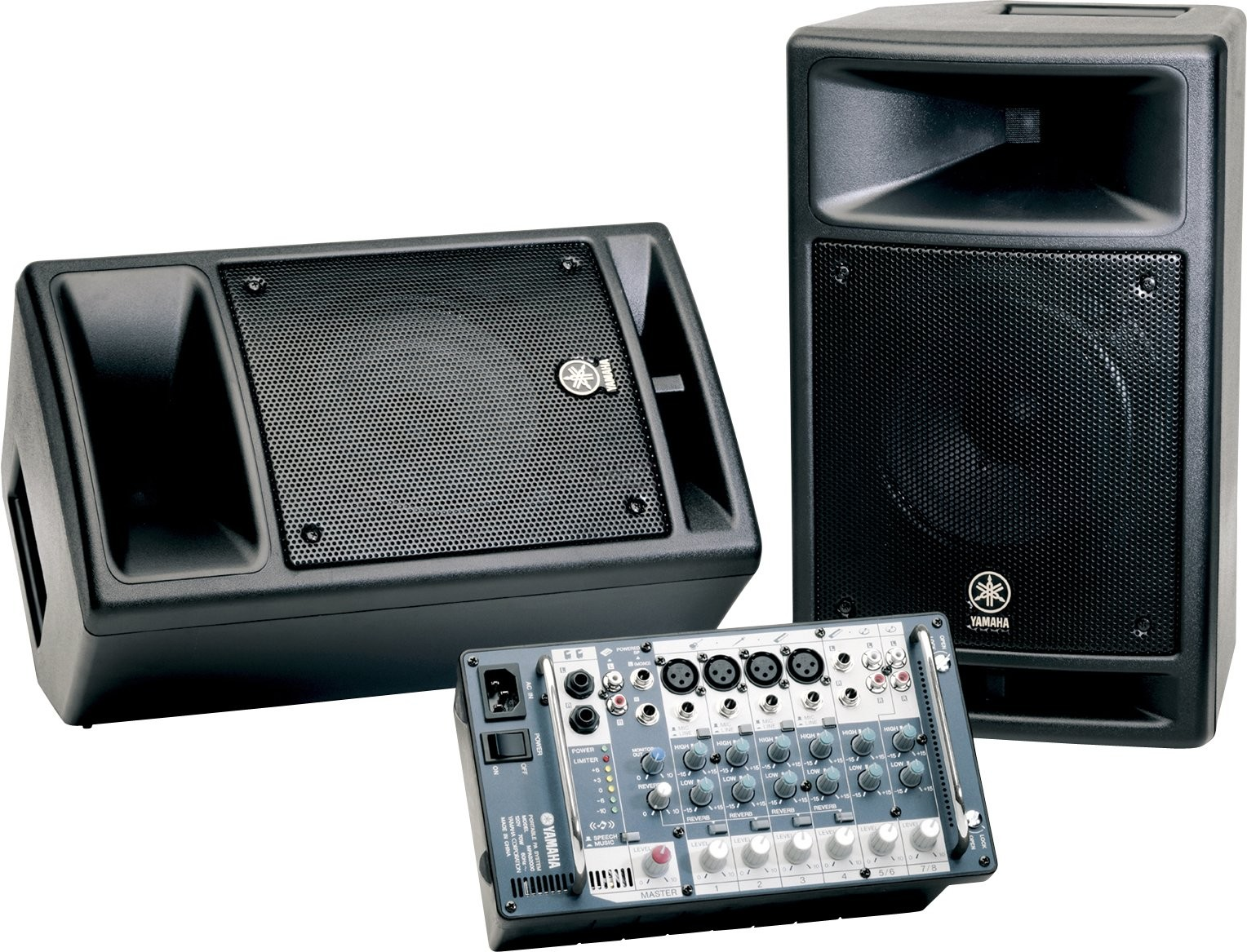 Yamaha Stagepas 300 300w Portable Active Pa System Audio