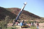 Geotech Drilling at Debarwa