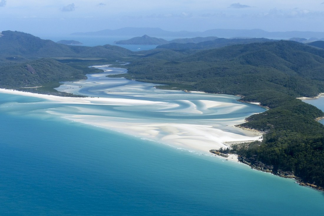Whitehaven Beach Great Barrier Reef Australia