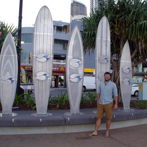 Dan in Surfers paradise