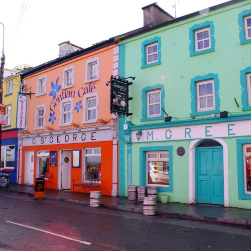 Colourful Shops Kinvara Ireland