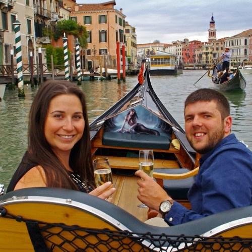 SIT Italy Gondola Dinner Tour Venice
