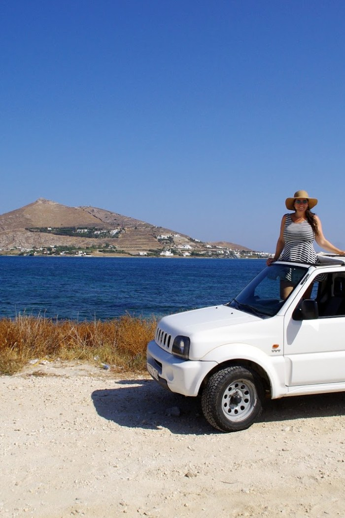 Exploring the Beautiful Greek Island of Paros with AutoParos