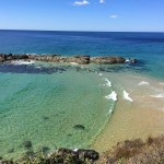 Beautiful crystal clear water Port Macquarie
