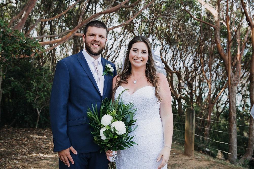 Bride and Groom married!