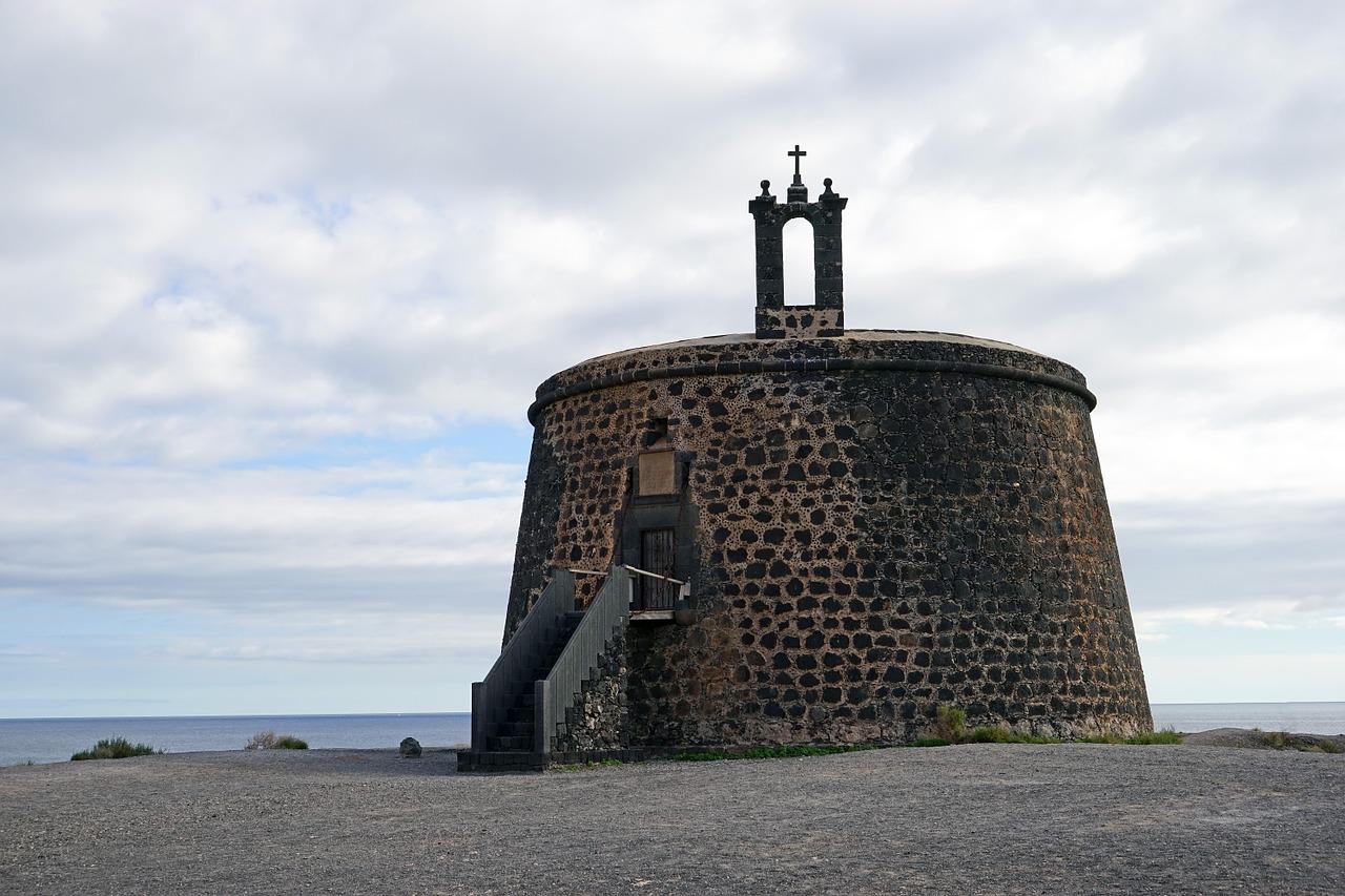 Castillo de las Coloradas Playa Blanca Lanzarote