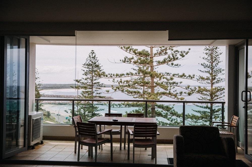Balcony at Observatory Port Macquarie