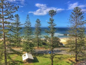 Port Macquarie view from Mantra Observatory