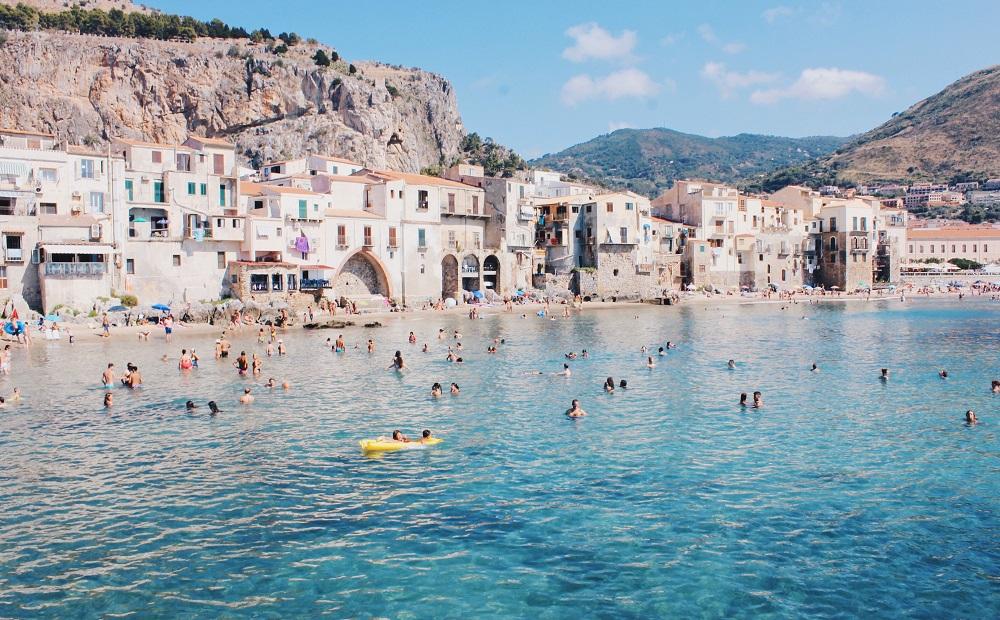 Beach in Sicily Italy
