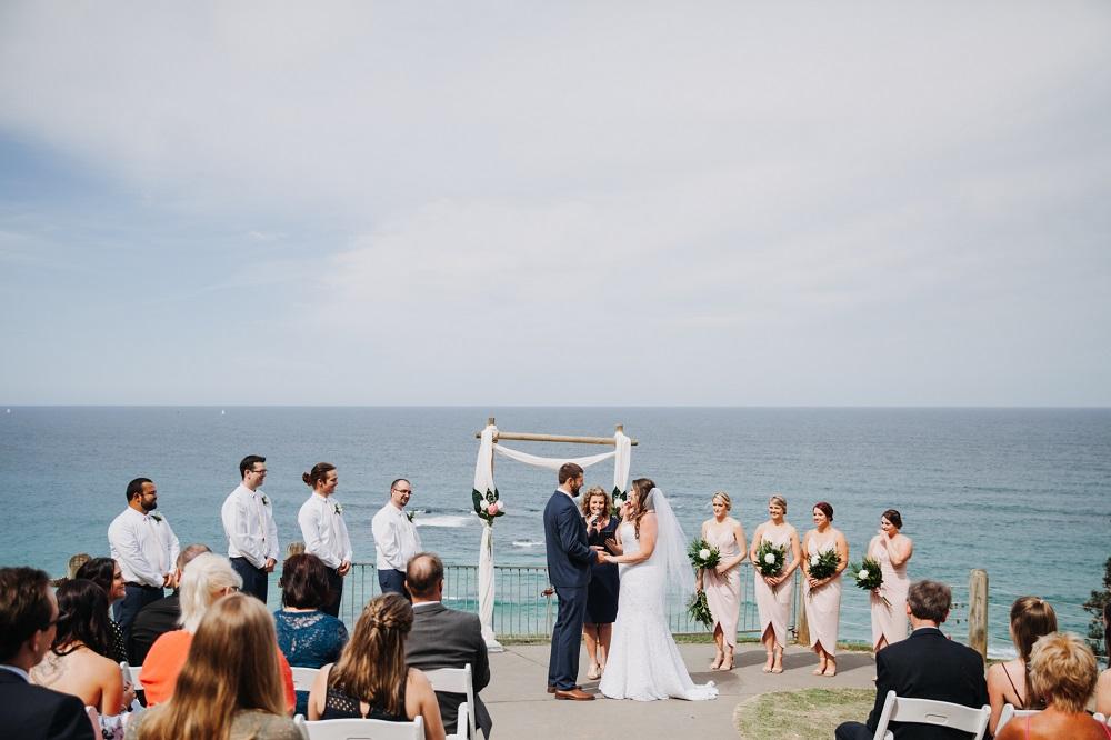 Wedding Harrys Lookout Port Macquarie