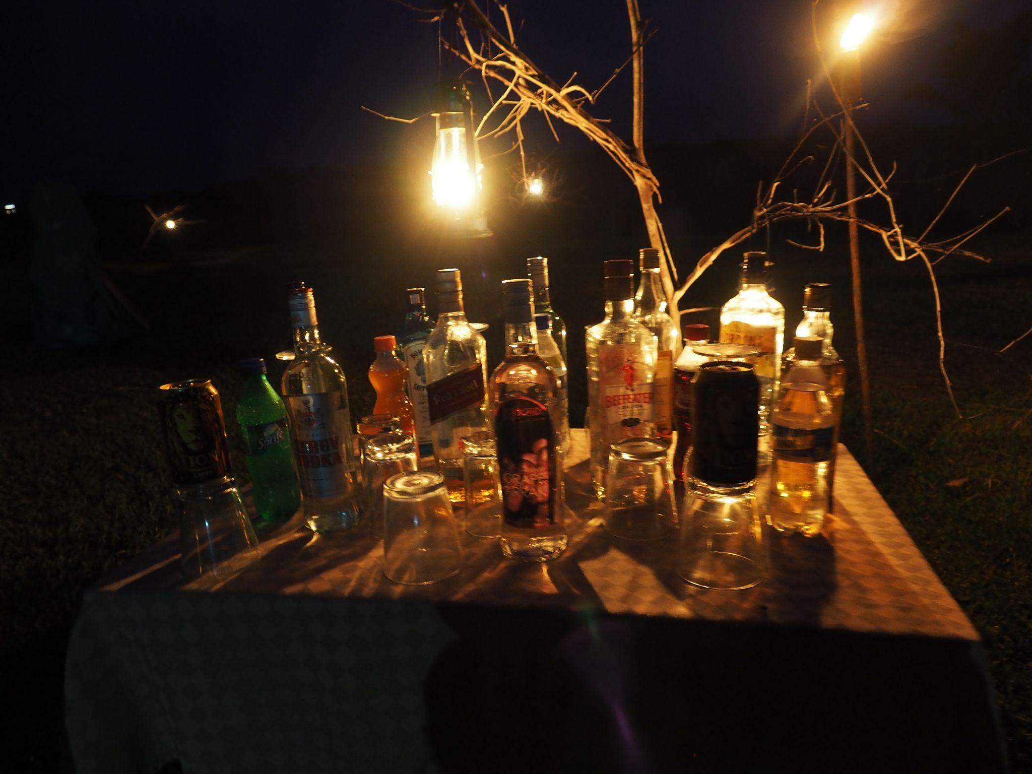 Bar at Master Campers Udawalawe