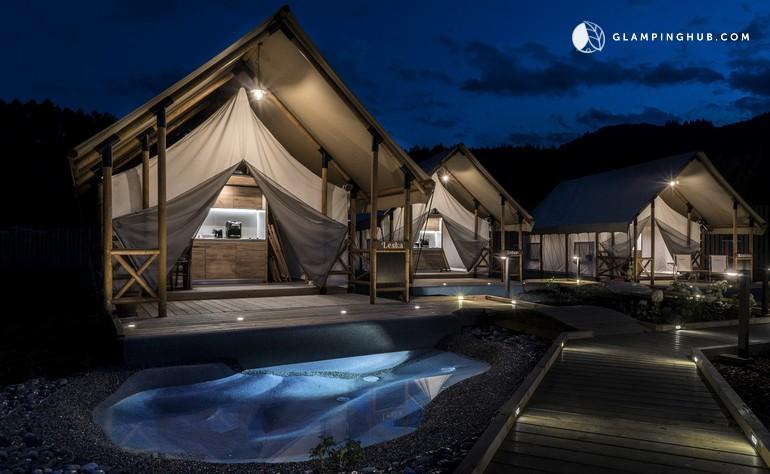 Luxury Safari Tents Slovenia