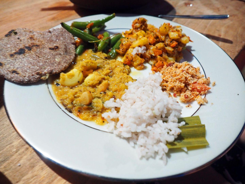 Cooking class food in Ella Sri Lanka
