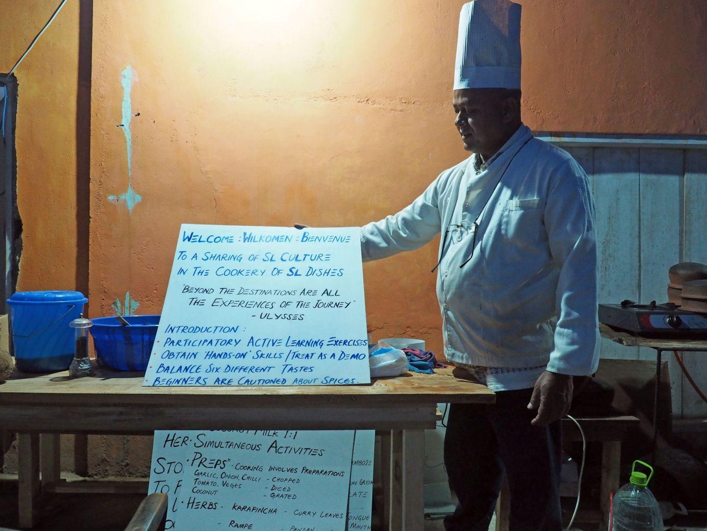 Cooking class in Ella Sri Lanka