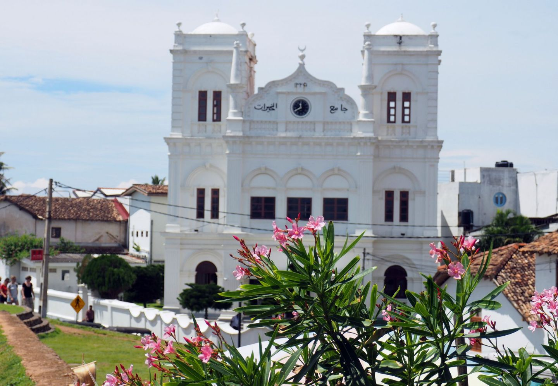 Mosque in Galle Sri Lanka