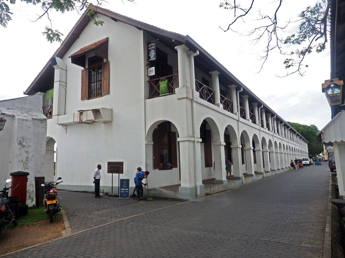 Old Dutch Hospital Galle