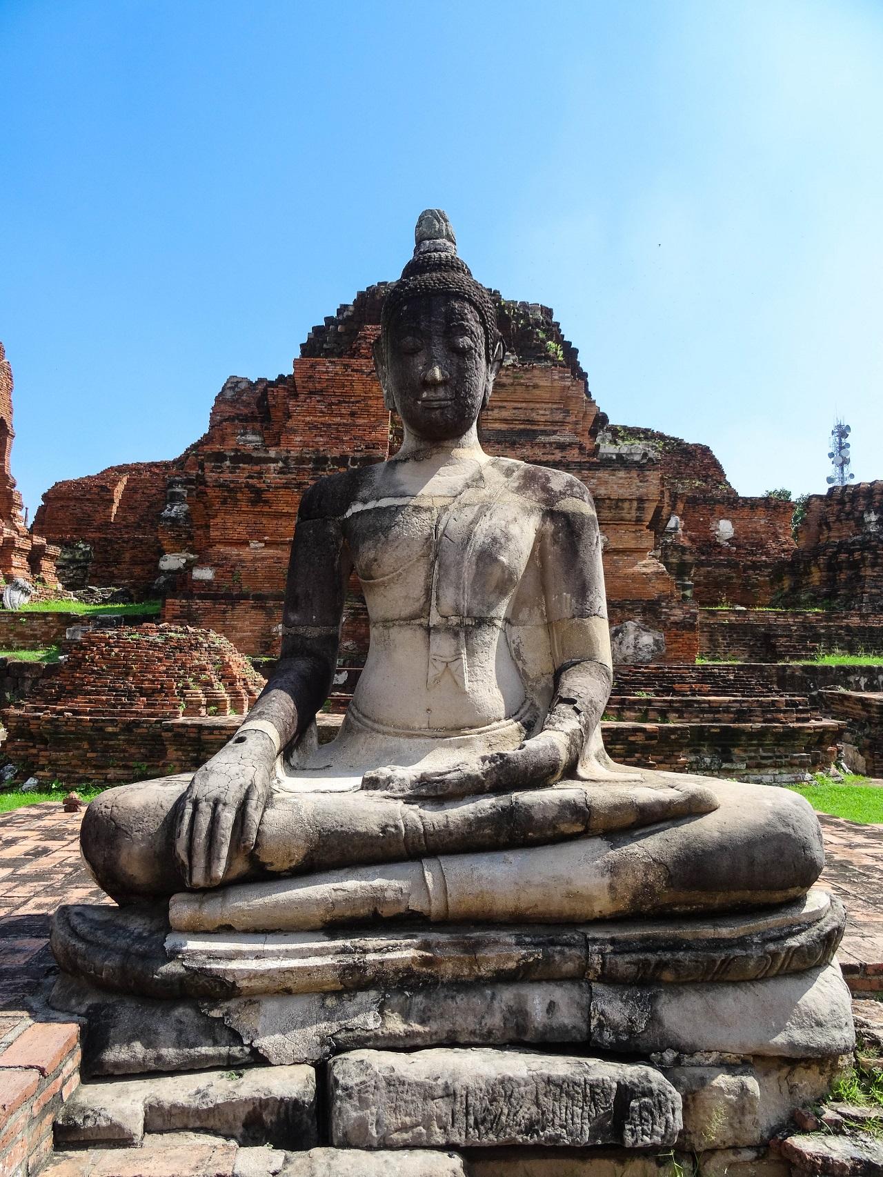 Would Be Traveller - Ayutthaya