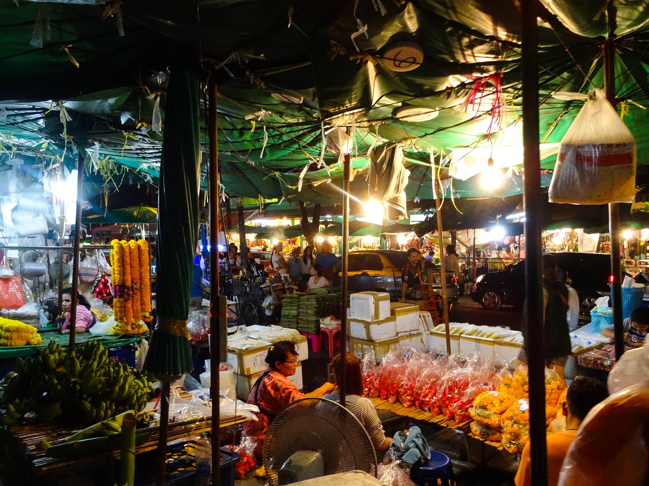 Would Be Traveller - Bangkok Market