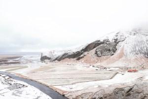 Iceland Landscape in Winter