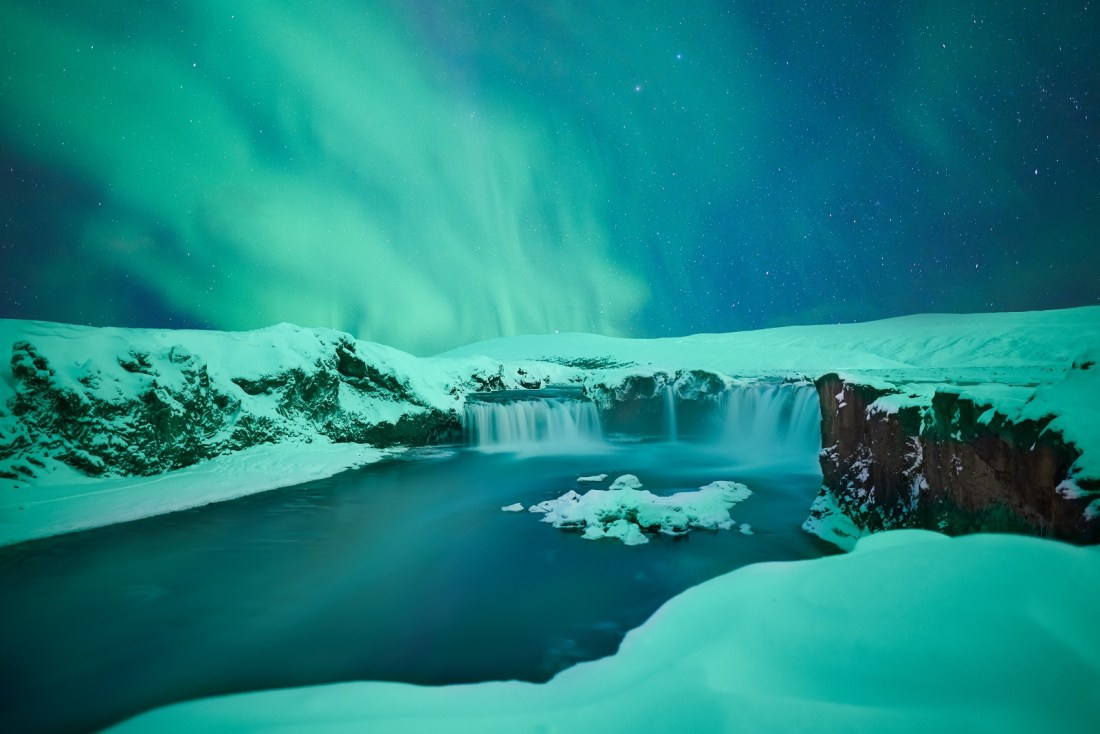 Northern Lights Iceland Winter