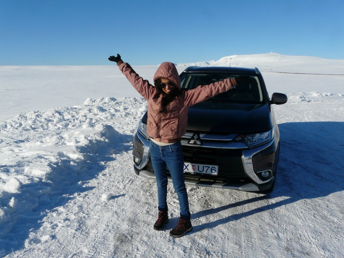 Siddharth & Shruti Roadtrip in Iceland Winter