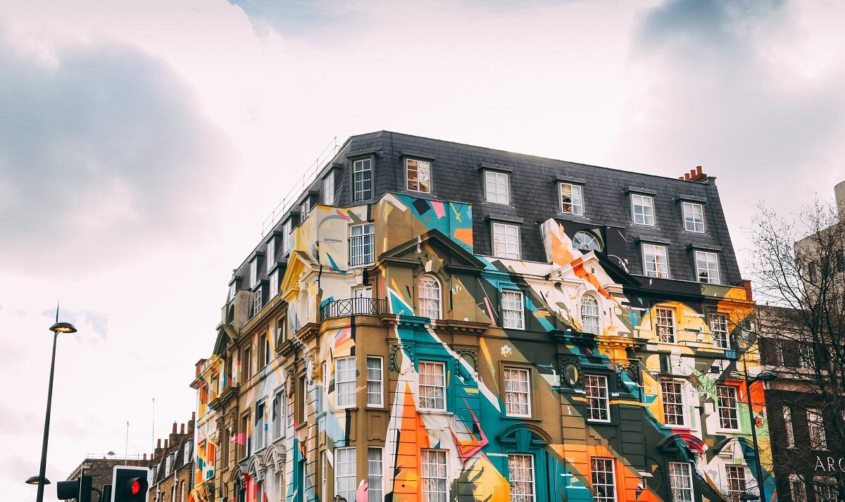 Colourful Building London