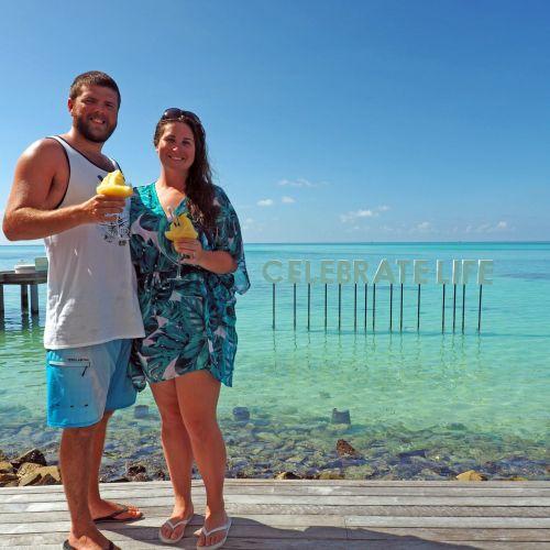 Couple at Beach Rouge Maldives