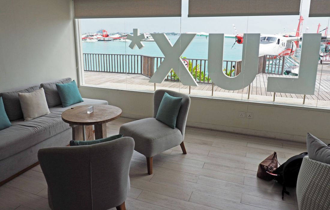 LUX Resort Seaplane Lounge