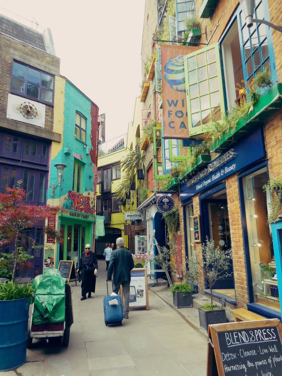Neals Yard Courtyard London