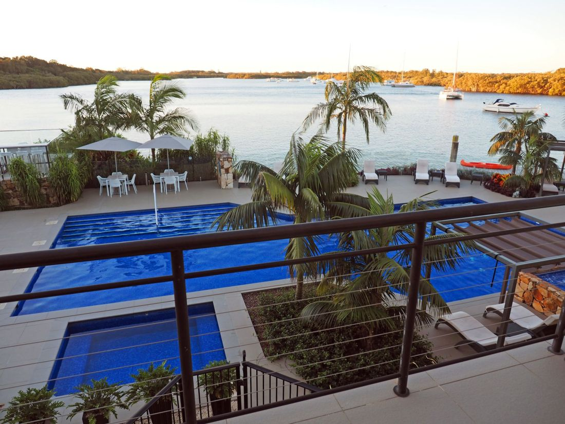 Balcony views Sails Port Macquarie