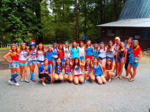 CBR Summer Camp Campers and Counsellors 4th July