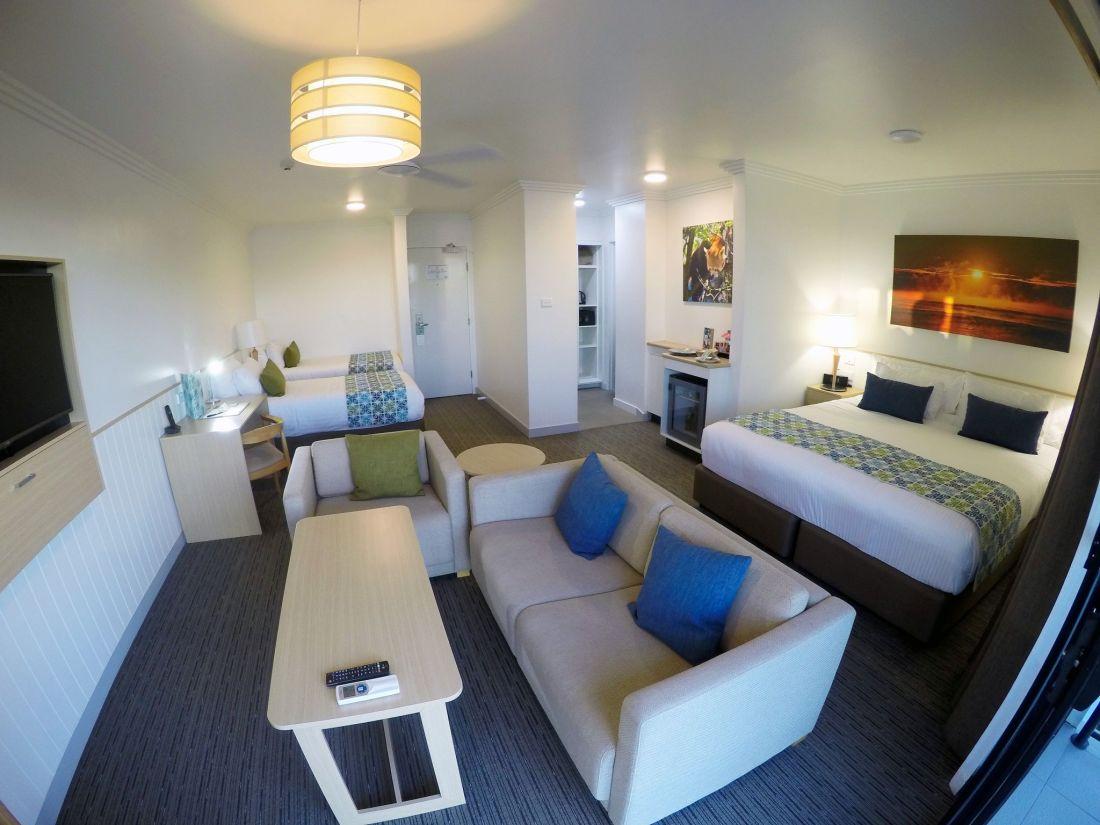 Sails Port Macquarie Hotel Room