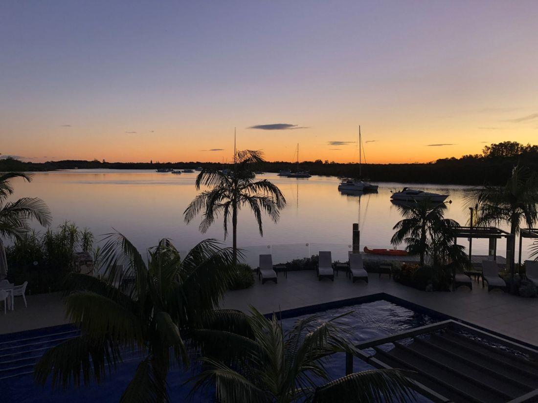 Sails Port Macquarie Sunrise