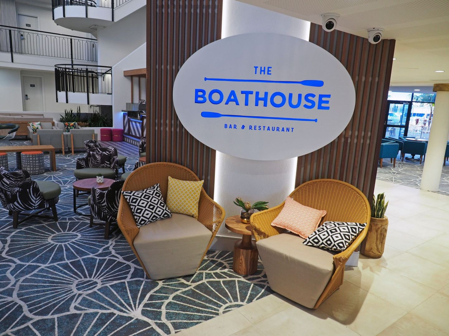 The Boathouse Bar & Restaurant Sails Port Macquarie
