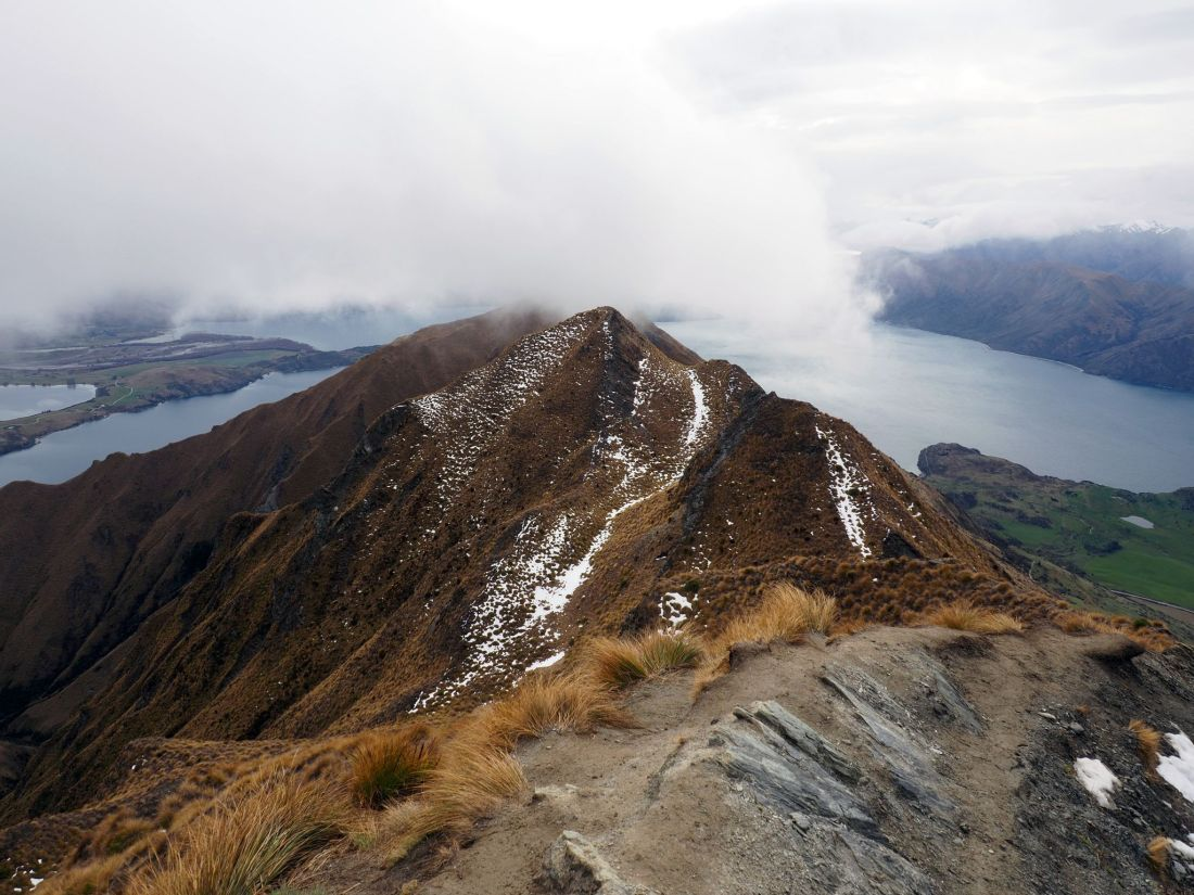 Roys Peak in winter