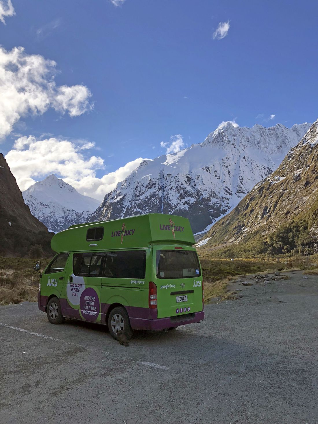 Scenic stop on Milford Road