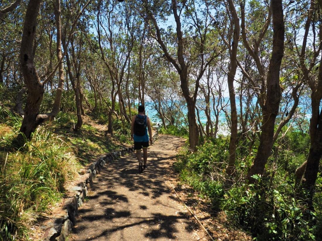 Dan on coastal walk Port Macquarie
