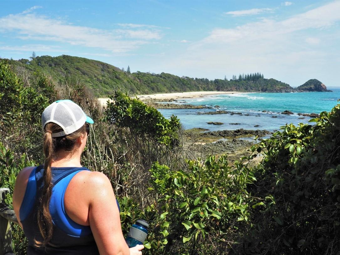 Simone at Shelly Beach Port Macquarie