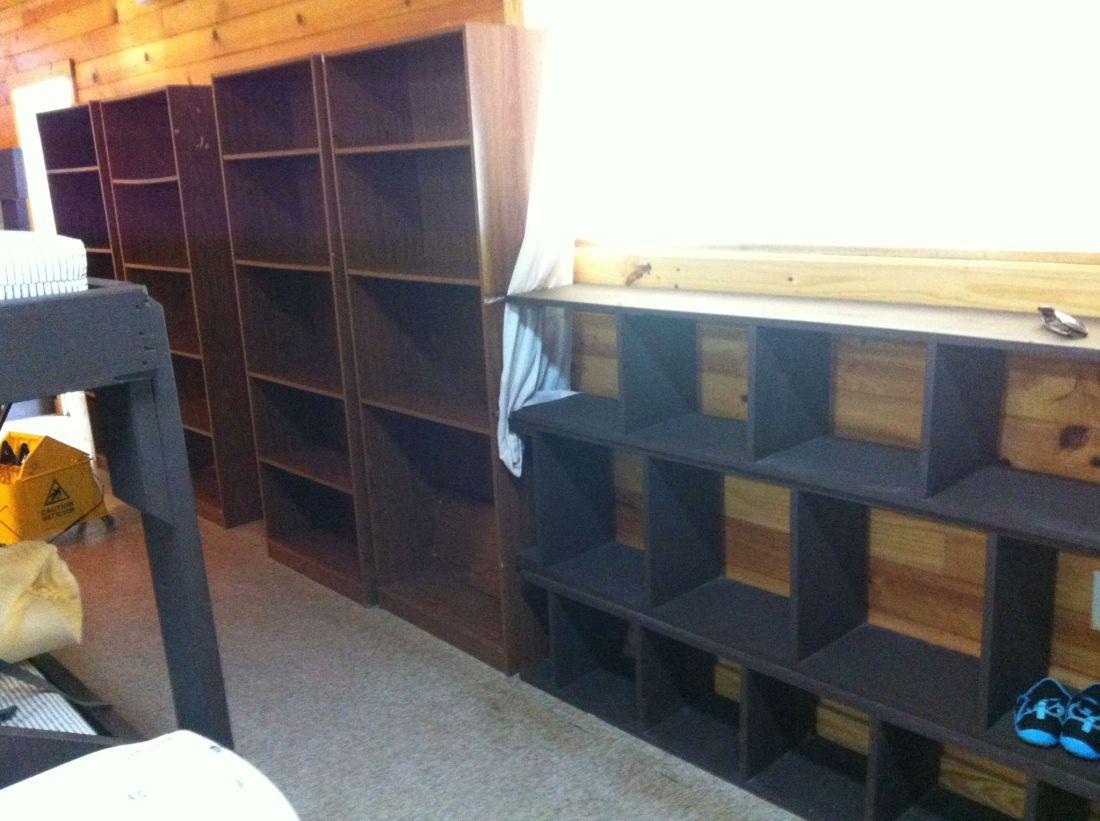 Storage in Cabin