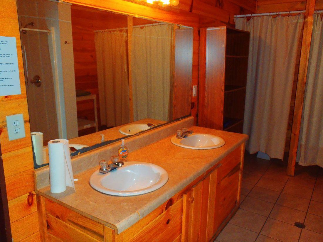 Summer Camp Bathroom