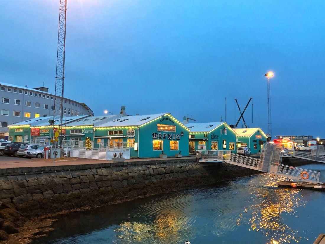 Blue Shops Reyjkavik Old Harbour