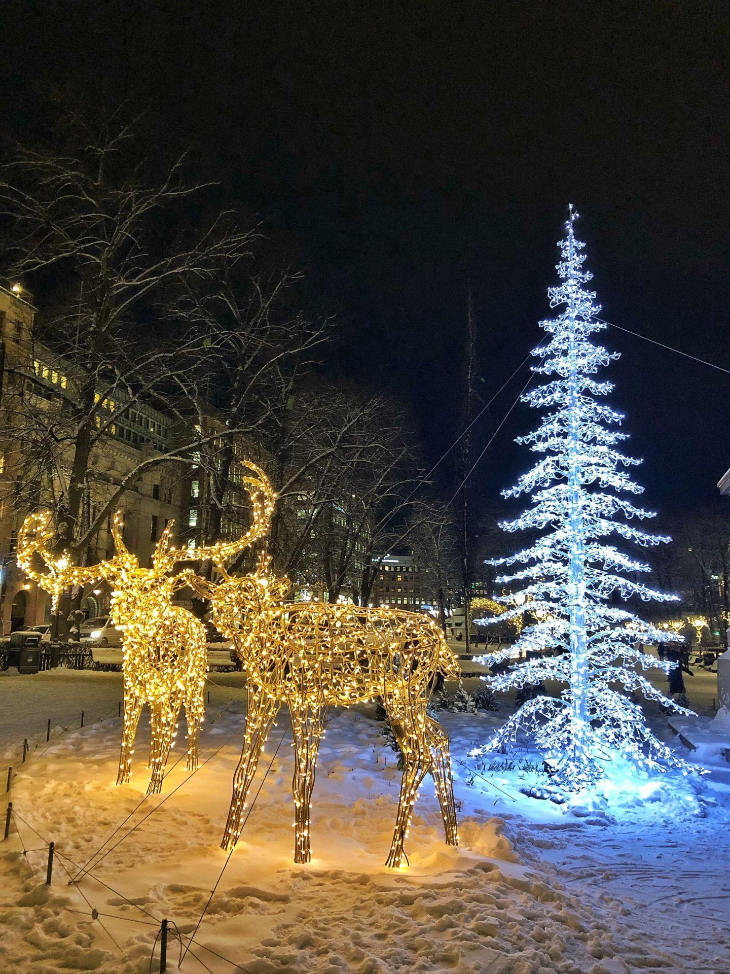 Christmas Lights Helsinki