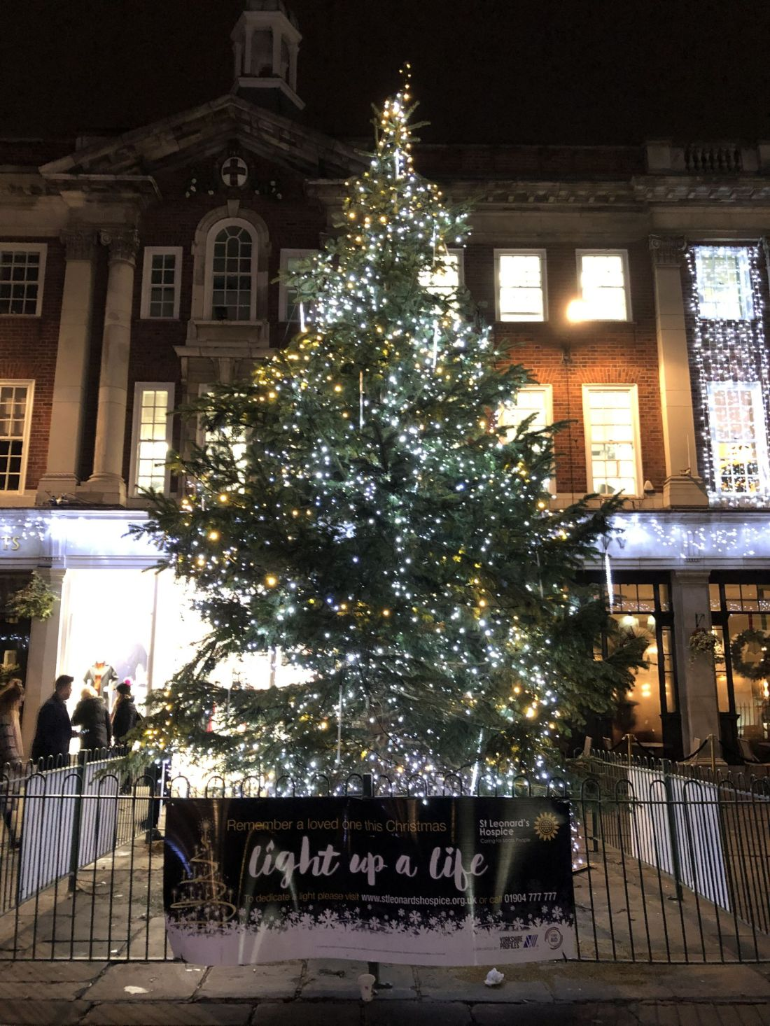 Christmas tree in York
