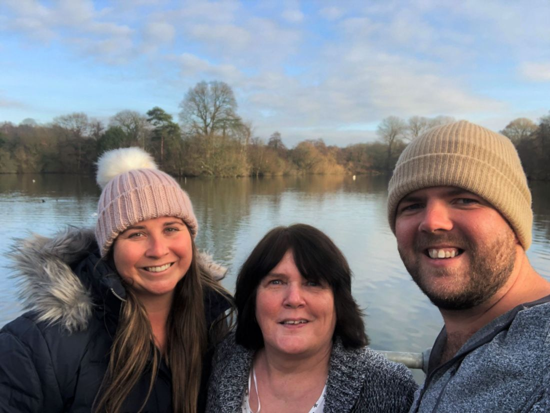 Family at Earlswood Lakes