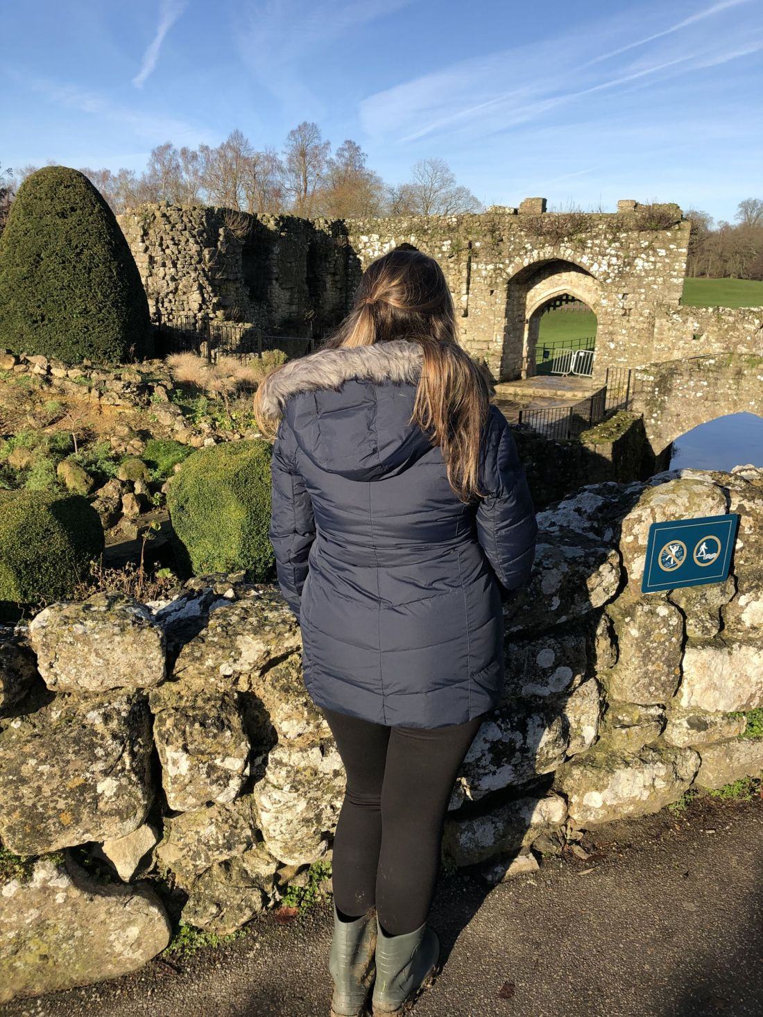 Simone at Leeds Castle