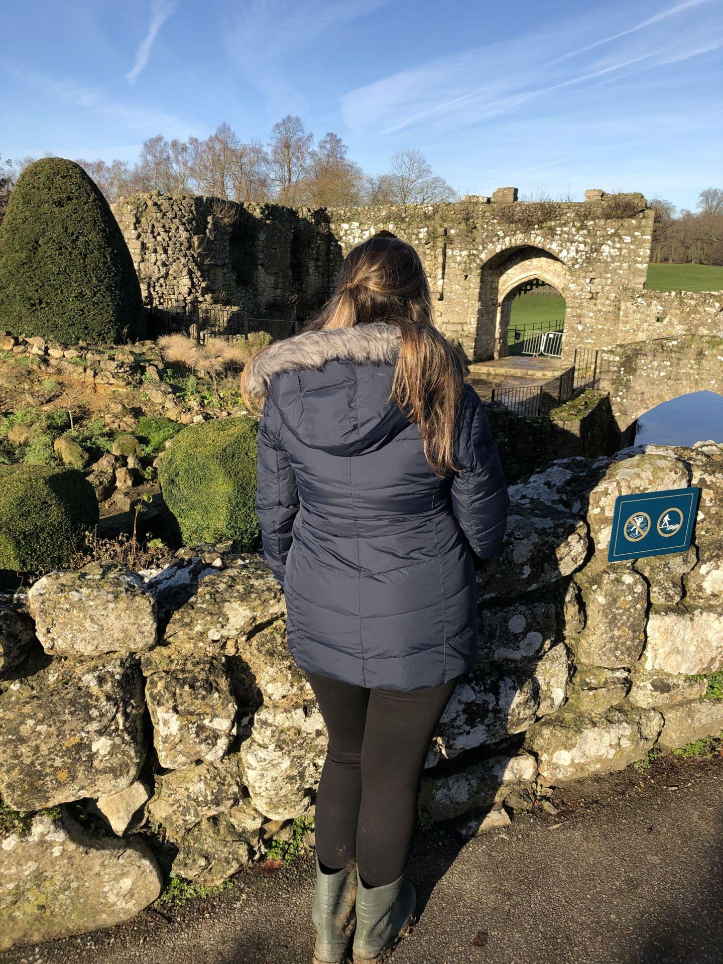 Simone at Leeds Castle