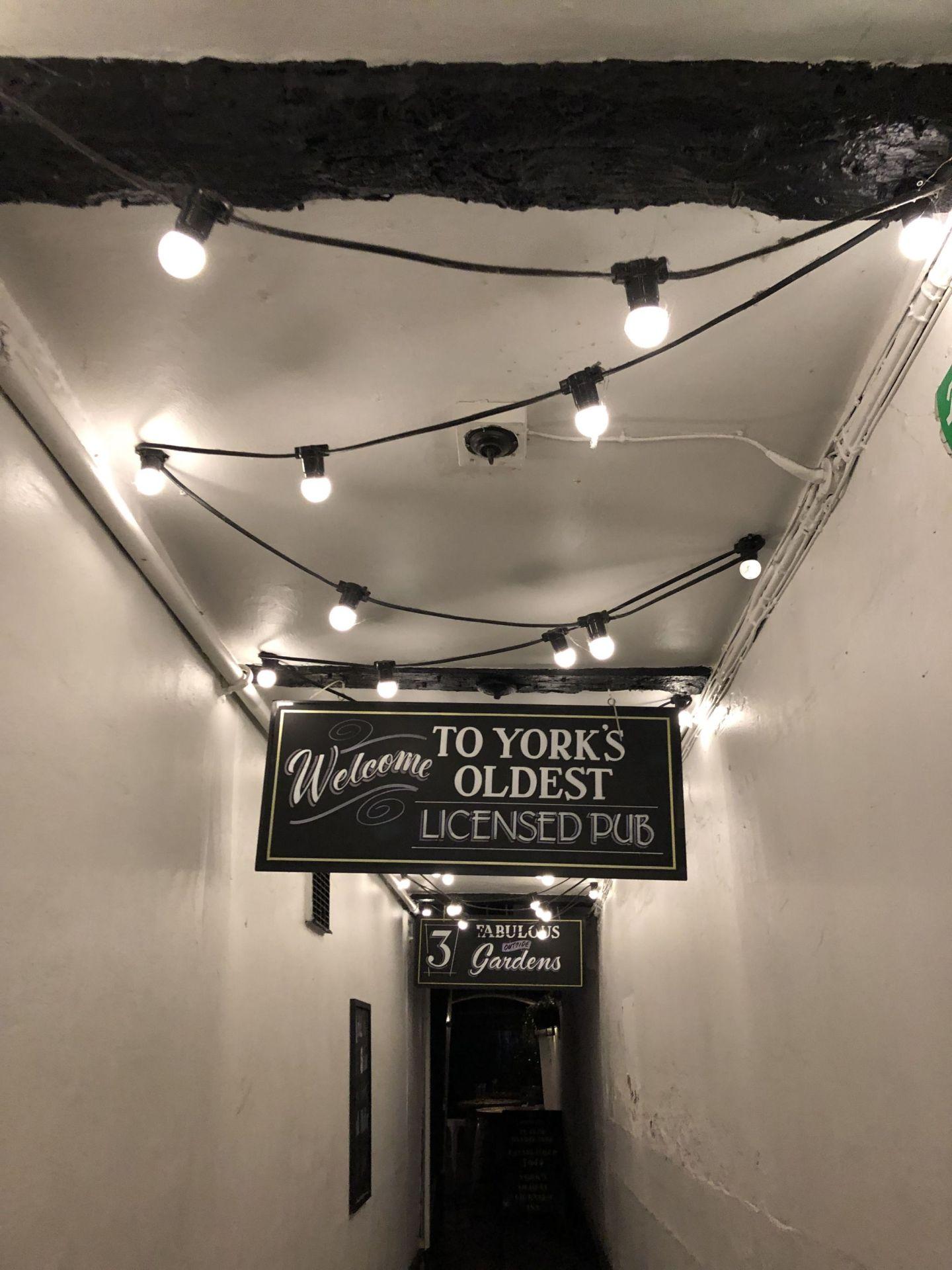 York's Oldest Pub