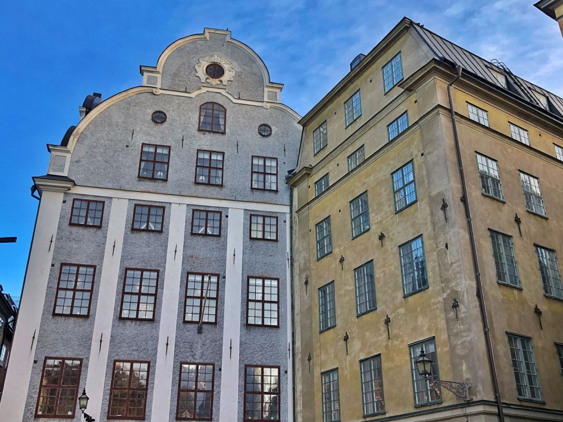 Buildings in Stortorget Stockholm