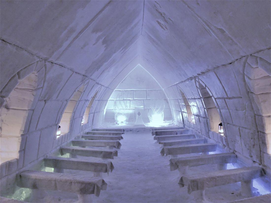 Arctic SnowHotel Rovaniemi Ice Chapel